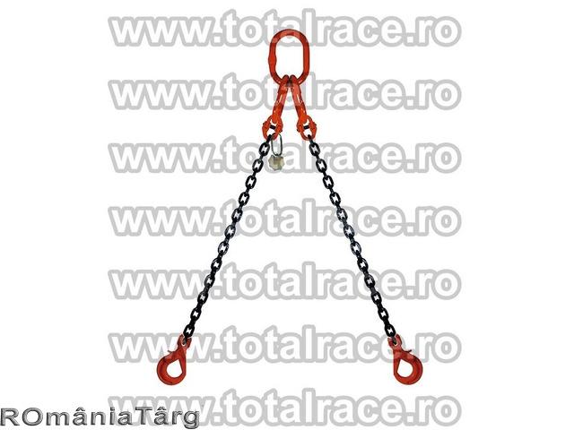 Dispozitiv de lanturi cu 2 brate si chei de tachelaj omega productie Crosby - 1
