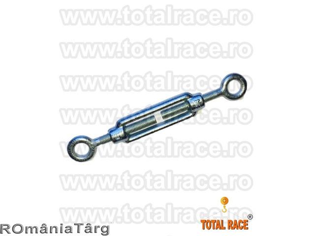 Intinzatoare cablu cu doua ochiuri de prindere Total Race - 1
