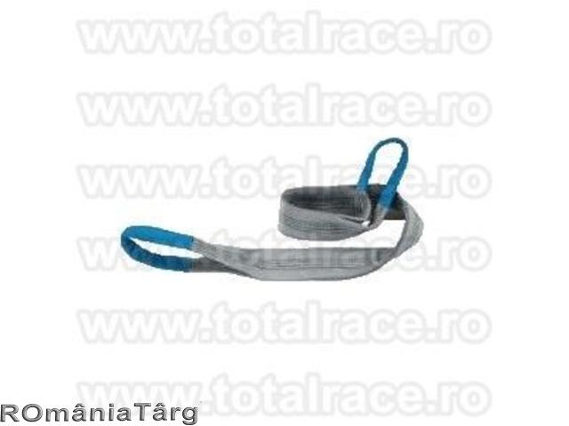 Chingi de ridicare din polyester cu urechi de prindere sau circulare pentru ridicat sarcini - 1