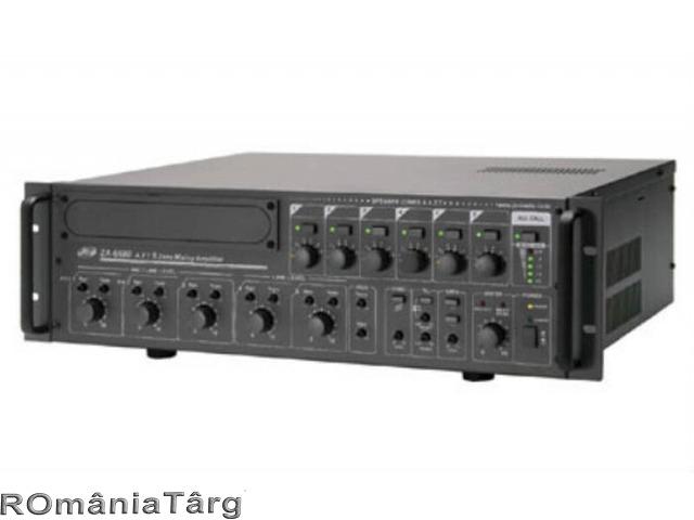 Amplificator audio profesional 600W/100V JD-Media ZA-6600 - 1