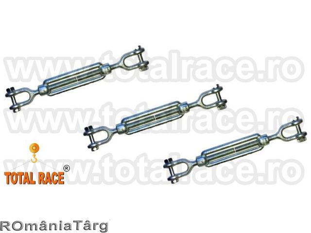 Intinzatoare cablu cu doua furci Total Race - 1